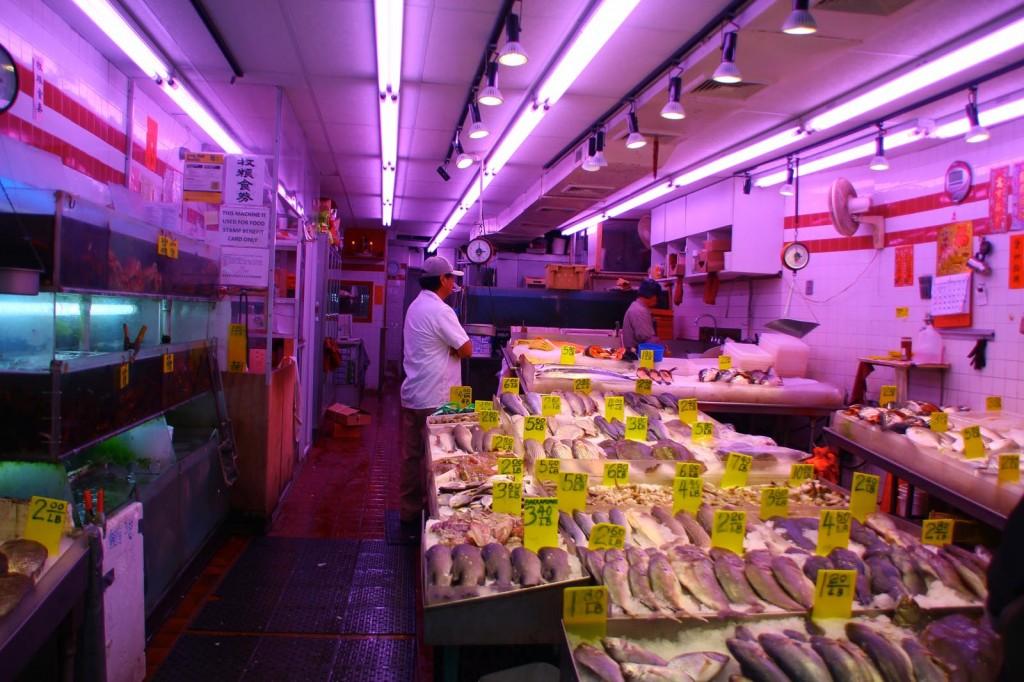 Fischladen-Chinatown