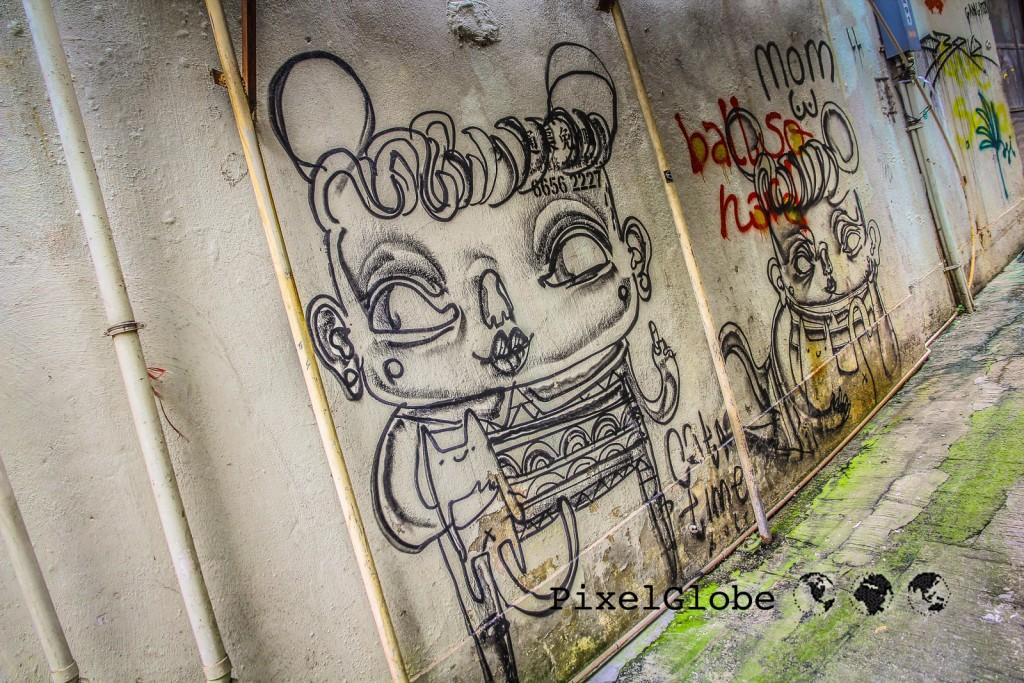 HongKongStreetart-CatTimeBiatch2